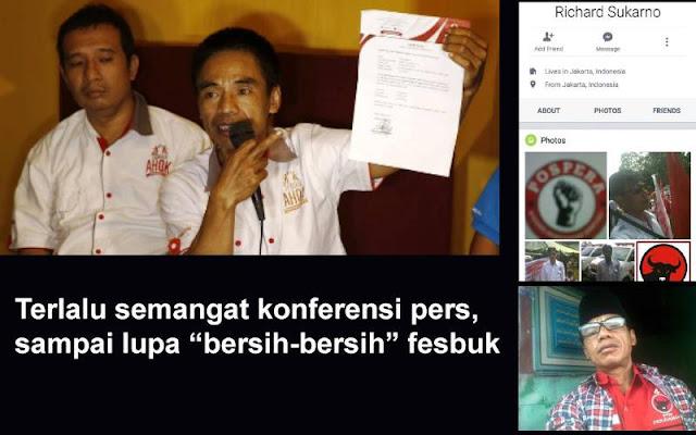 """Beredar, Foto Mantan PJ """"Teman Ahok"""" Gunakan Kemeja PDI-P Hebohkan Jagad Maya"""