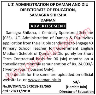 UT Administration of Daman & Diu
