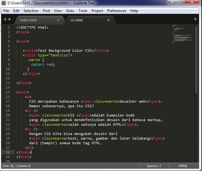 Pengenalan CSS Dasar