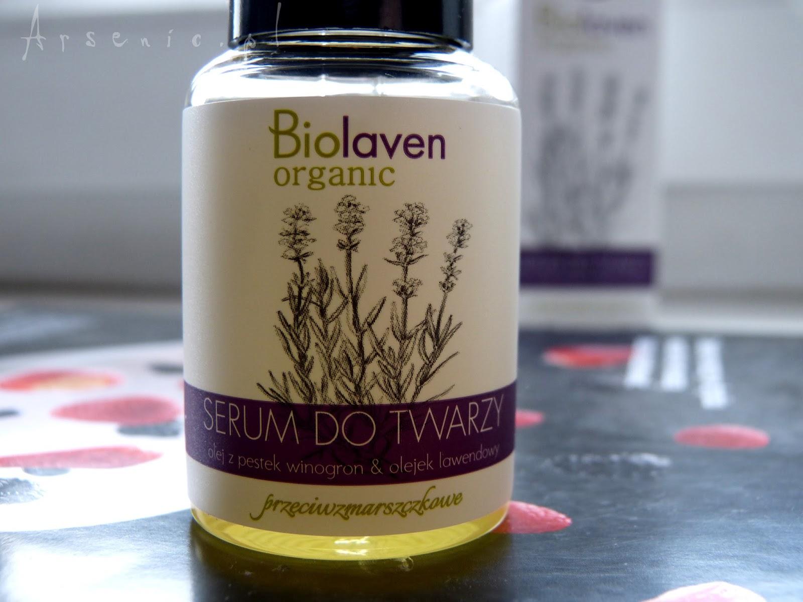 Biolaven przeciwzmarszczkowe serum do twarzy z olejem winogronowym i lawendą. Porównanie z serum wygładzającym Resibo i stówa w kieszeni.