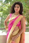 pavani new photos in saree-thumbnail-34