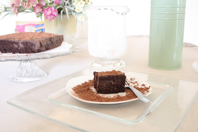 IMG 2812 - עוגת שוקולד לפסח