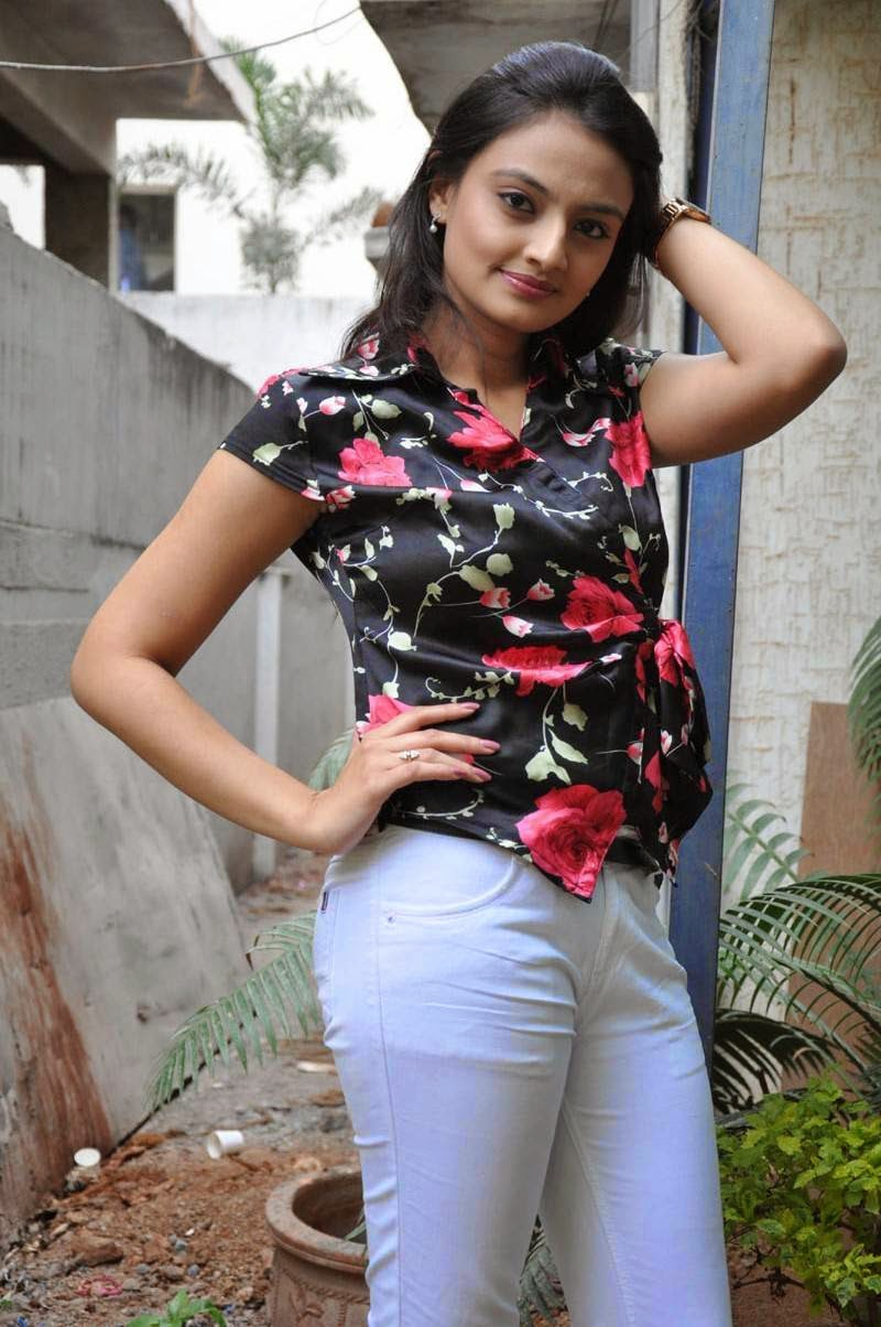 Actress Nikitha Narayan Latest Cute Hot Spicy Photos Gallery At Pesarattu Movie Press Meet