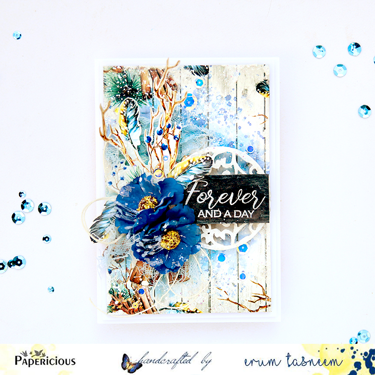 Papericious Winter Rimes Card by Erum Tasneem | @pr0digyy0