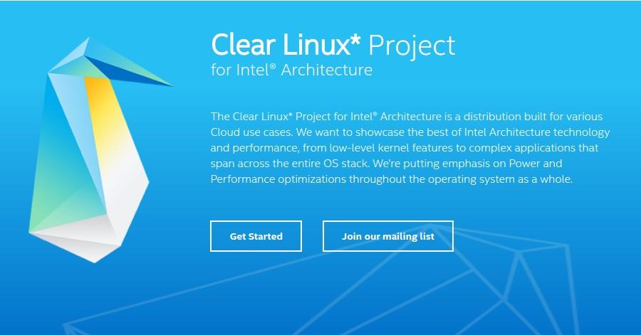 Intel usa o seu Clear Linux para melhorar o desempenho de seus chips