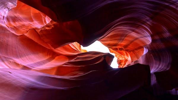 Natural Beauty of Antelope Canyon
