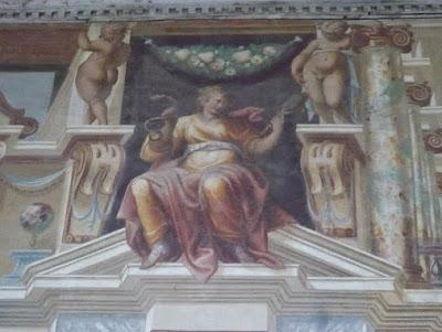 Affresco di Palazzo Giardino