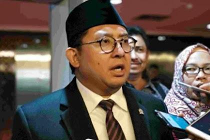 Diminta Lapor Sengketa Pilpres, Fadli Zon: MK Enggak Ada Gunanya