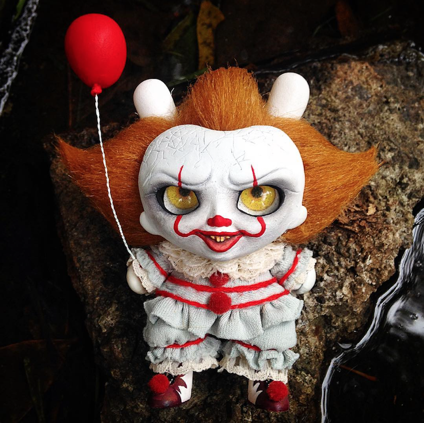 c51b37648747 PENNYWISE  Fanart   Custom Toys for the