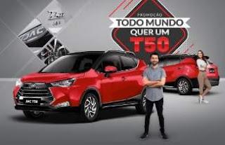 Cadastrar Promoção Todo Mundo Quer T50 Jac Motors 2019 - Nova Promoção