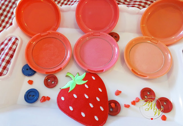 a photo of Etude House Berry Delicious Cream Blushers