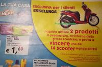 Logo Duck, Mr.Muscle, Pronto e Glade ti fanno vincere 14 Scooter Honda Sh125i