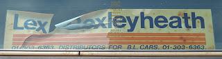 Lex Bexleyheath Window Sticker
