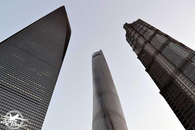 China - Shanghai - Rascacielos - Skyscraper - Pudong
