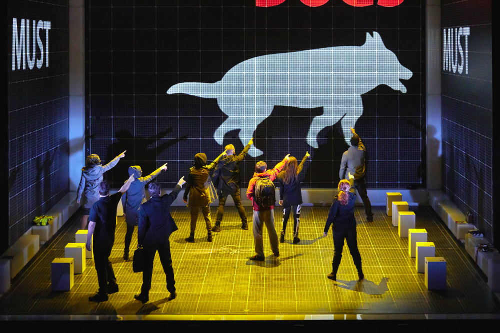 The Curious Incident of the Dog in the Night-time Theatre Production