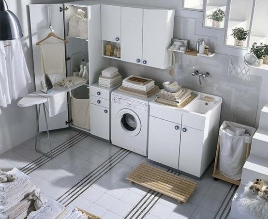 Ide cerdas dan penuh gaya menata ruang cuci pakaian