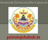 Lucknow University Recruitment