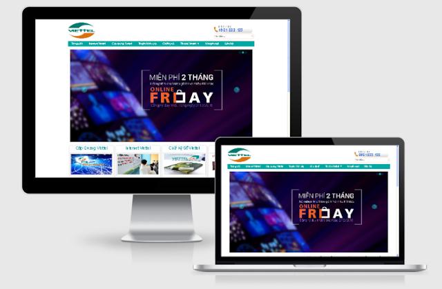 Cáp quang Viettel - mẫu blog giới thiệu dịch vụ