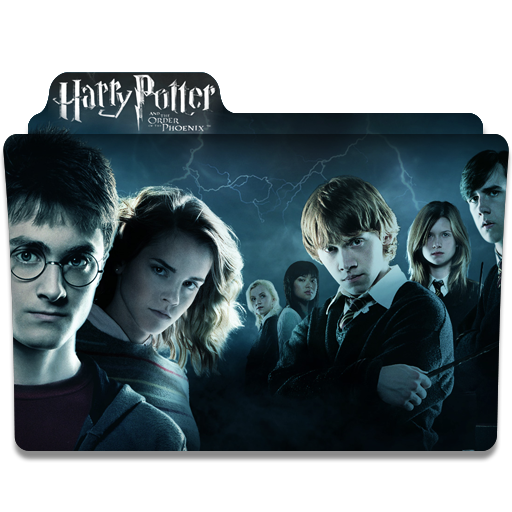 Folder Eyecons Harry Potter And The Order Of The Phoenix 2007