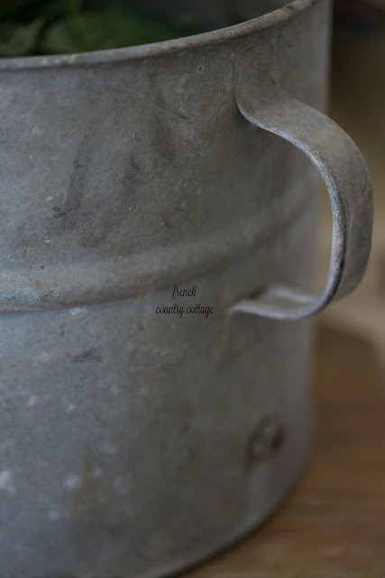 Bucket close up
