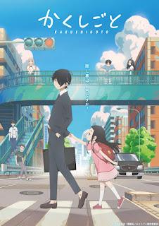 Kakushigoto ganha novo trailer com prévia da música de abertura