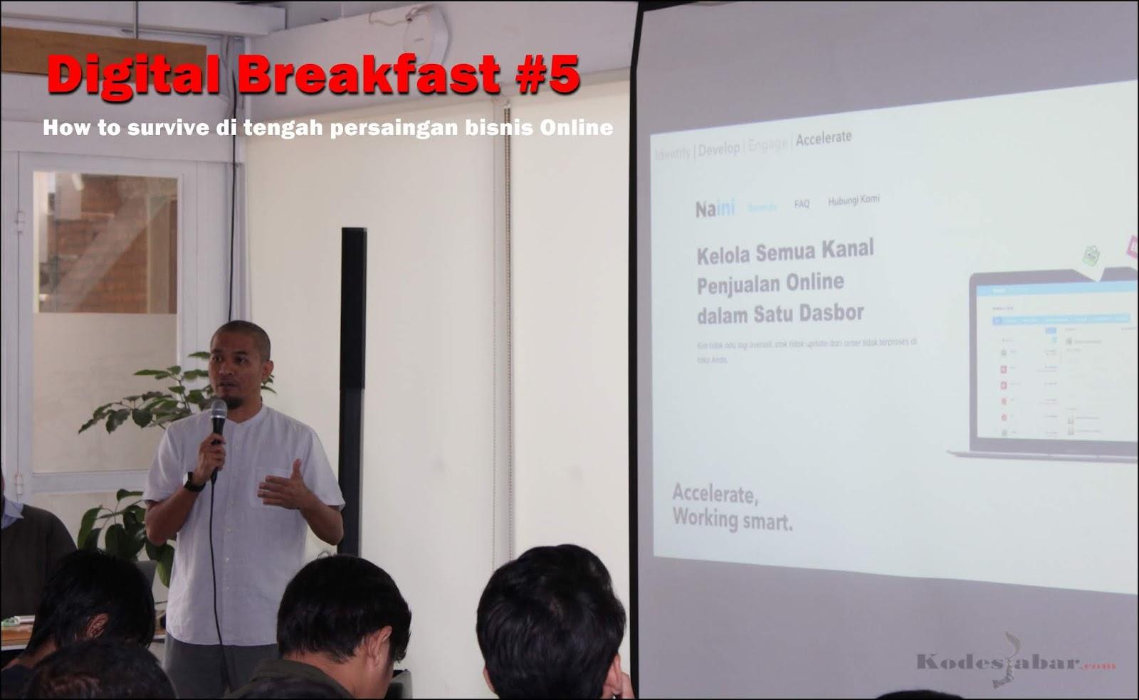 Digital Breakfast #5 Solusi UKM di Bandung