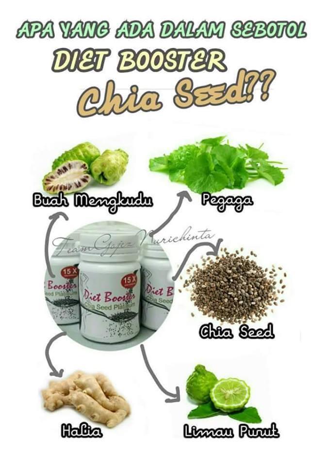 CHIA SEED PLATINUM DIET BOOSTER - HARGA MURAH ORIGINAL ...