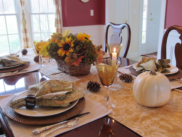 Table for Four - Thanksgiving in the country