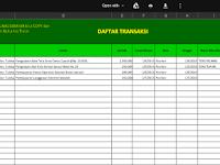 Download Aplikasi Kwitansi Microsoft Excel