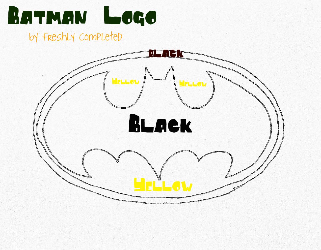 Batman template printable cake ideas and designs for Batman logo cake template