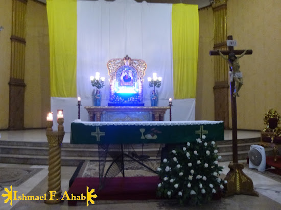 Altar of Our Lady of the Most Holy Rosary, Queen of Caracol Church in Rosario, Cavite