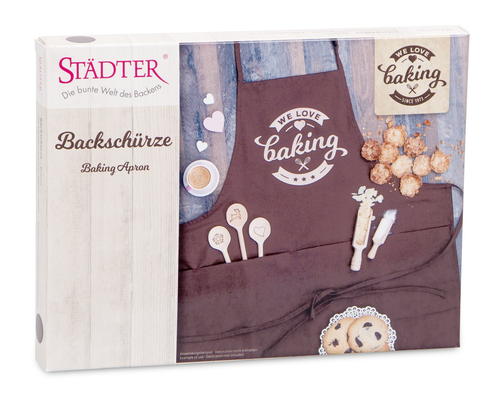 Städter Backschürze We Love Baking