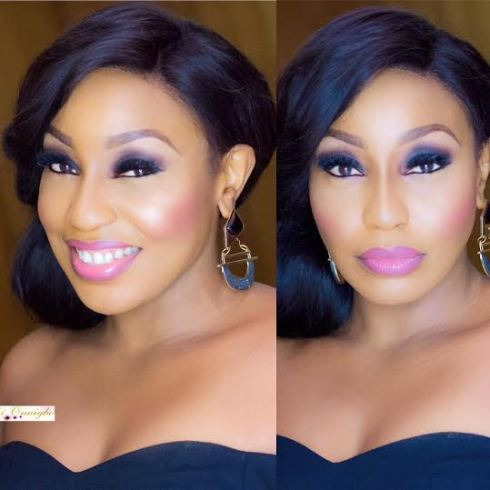 Rita Dominic look totally dazzling in new cosmetics photographs shared by MUA Oluchi Onuigbo