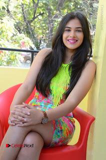 Telugu Actress Prasanna Stills in Short Dress at Inkenti Nuvve Cheppu Press Meet Stills  0167.JPG