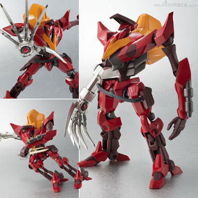 FIGURA Knightmare Frames GUREN NISHIKI GUREN Type-02 ROBOT SPIRITS CODE GEASS R2 BANDAI