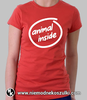 Koszulka Animal inside