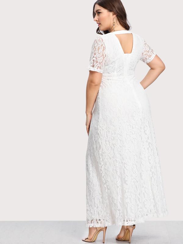 vestido branco rendado