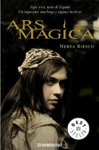 Portada del libro ars mágica de Nerea riesco