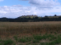 Monteriggioni sulla via Francigena