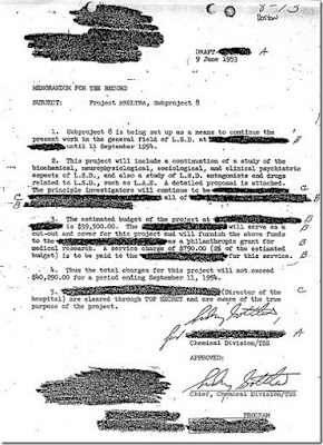 MKULTRA, CONTROLE MENTAL, LSD, SIDNEY GOTTLIEB, CIA