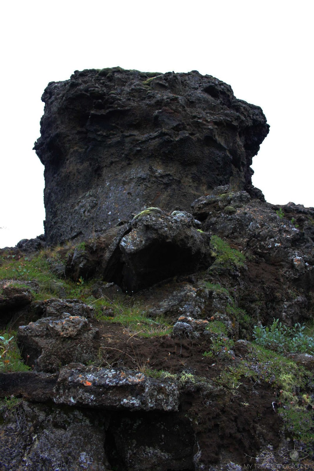 My Travel Background : 2 jours autour du lac Myvatn en Islande - Formations de lave de Dimmuborgir