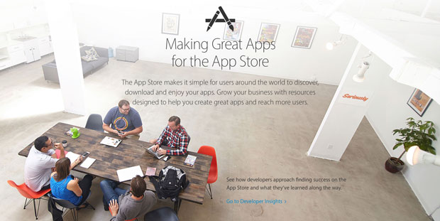 Apple-Introduces-Special-Page-for-App-Developers