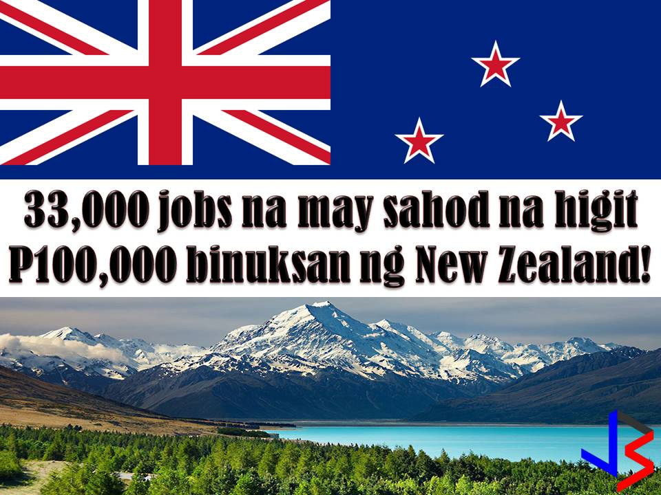 If you are looking for an opportunity to work abroad this 2018. Don't miss the following. New Zealand, Taiwan, and Japan are hiring for Filipino workers! According to GMA News' Report, New Zealand is opening 33,000 jobs for migrant workers including Filipinos.
