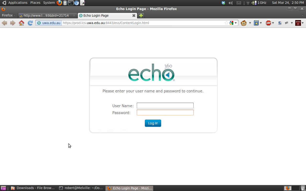 98 Percent Idle: UWA changes its Echo360 configuration - no