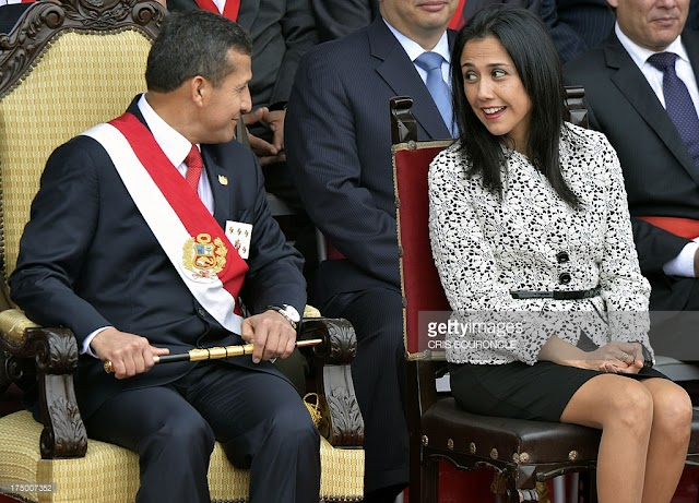 #Corruption&Politics  :money laundering and conspiracy accusations for Humana.former Peru president and his wife.