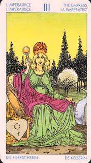 La Emperatriz- Tarot Universal