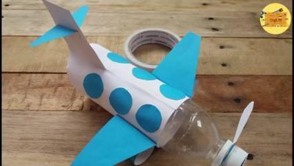 Cara Membuat Pesawat Dari Botol Aqua Atau Pocari Buat