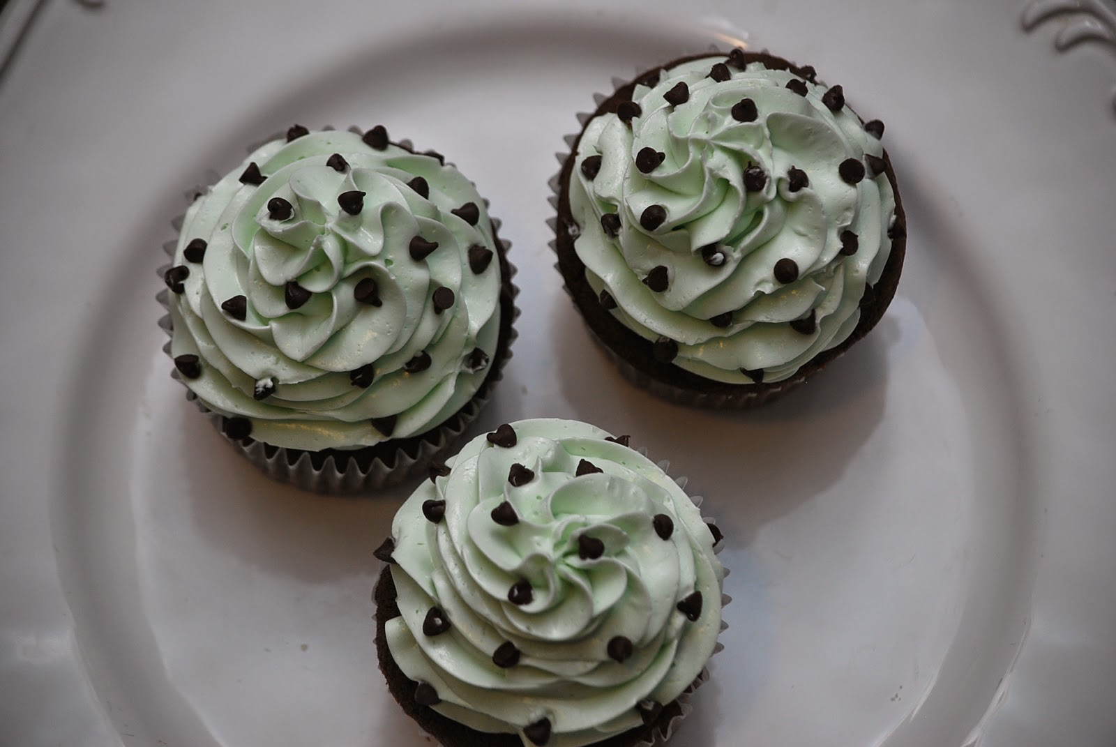 My Story In Recipes Chocolate Mint Cupcakes