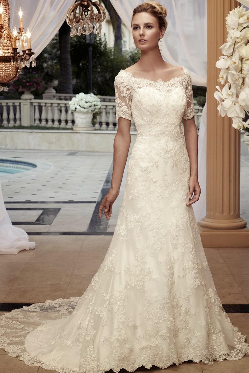 Vestidos de novia con encaje precio