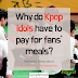 Why do Kpop idols have to pay for fans' meals at Idol Athletic Championship?